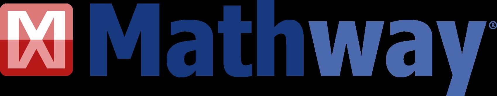 Mathway logo/link